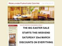 **QUALITY FURNITURE AT REASONABLE PRICES** : Rowlands Furniture Centre