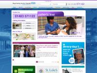 Low Graphics, Customise, Royal Surrey County Hospital, Our Services