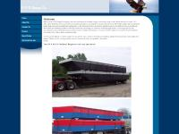 rpsbarge.com Truckable barges, Sectional Barges, Dock Floats