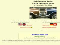 Rolls-Royce and Bentley Photos, Reports and Books