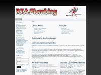 rtaplumbing.co.uk joomla, Joomla
