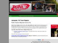 Alignment, Suspension, and Tire Truing, truck repair