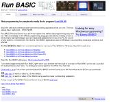 Run BASIC - Easy and pain free web programming!