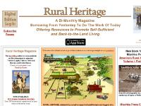 Draft horse, mule, oxen power, back to the land and sustainable living - Rural Heritage online
