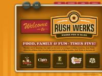 Rush Werks Sioux City Iowa - Bottoms Up Patio Bar | Clyde's Grill & Pub | Emma's Event Center | Rush Lanes | Fun Plex