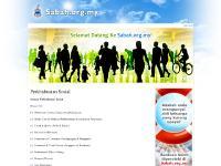 sabah.org.my sabah.org prototype, Announcement List, Social Services
