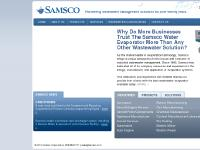 samsco.com Distilling Equipment, Energy Efficient Evaporator, Evaporator