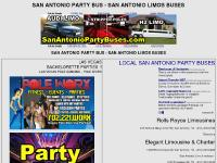 SAN ANTONIO PARTY BUS - SAN ANTONIO LIMOS BUSES