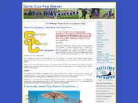 Santa Cruz Pop Warner Football and Cheer Santa Cruz County's finest youth sports organization
