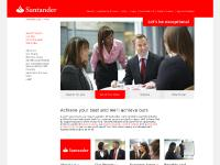 santanderjobs.co.uk Santander Group, Our people, Business areas