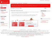santandertravelinsurance.co.uk holiday insurance, travel insurance for singles, couples