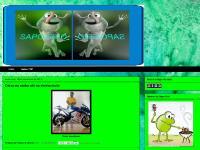 sapofeio.blogspot.com Início, Sapos TOP, Deixa eu andar aki na minha moto