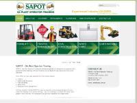 SAPOT - SA Plant Operator Training & Adelaide Driver Training