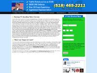 Saratoga $195 Traffic Lawyer - NY Speeding Ticket Attorney Randall Kehoe