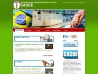 Institucional, Agenda, Revista da SASDE, Saiba Mais...
