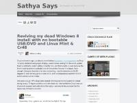 Sathya Says