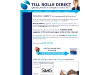 Till Rolls, Thermal rolls, Chip and Pin Rolls, Paper rolls, Lowest Priced Till Rolls On the Net!