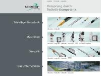 schmidttechnology.de SCHMIDT Technology