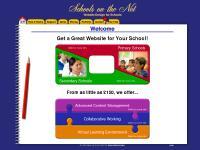 Schools on the Net - Website Design for Schools