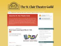 The St. Clair Theatre Guild | Quality theatrical entertainment since 1967