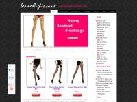 Seamed Tights | The biggest selection of seamed tights, seamed stockings and holdups on the web