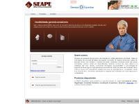seape.com.br Produtos, Esqueceu sua senha?, Produtos