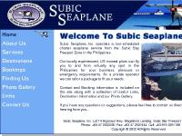 Subic Seaplane - Subic Bay Freeport Philippines Air Charter Service