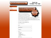 Selective Licensing - Selective Licencing for Landlords Scheme