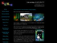 Sensory Room, Sensory Gardens, Hydrotherapy Pools and Softplay Rooms