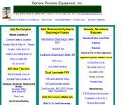 Heat Exchangers, Pumps, Fiberglass Equipment