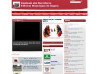servidoresdeitapira.com.br Capa, Diretoria, Palavra da Presidente