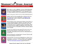Shaman's Drum - A Journal of Experiential Shamanism