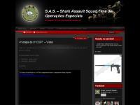 S.A.S. – Shark Assault Squad Time de Operações Especiais