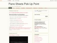 Piano Sheets Pick-Up Point