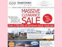 Sofas, Chairs, Dining Room Furniture & Bedroom Furniture | GSF Gerald Shotton Furnishings,