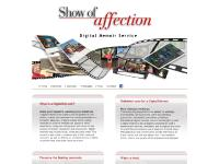 Show of Affection | Digital Memoir Service