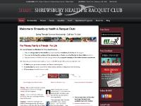 shrewsburyclub.com tennis, boot camp, gym