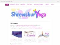 Shrewsbury Yoga - yoga classes in Shropshire, information and discussion. - Home