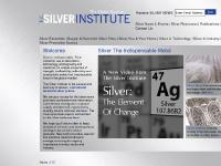 The Silver Institute | International Association of Silver Miners, Silver Refiners, Silver Fabricators, & Silver Wholesalers | The Silver Institute