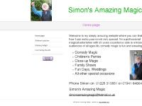 simonsamazingmagic.co.uk Children's parties, Close-up Magic, Fun Family Events
