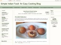 Simple Indian Food- An Easy Cooking Blog