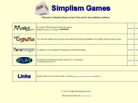 Simplism Games - software based on elegant simplicity
