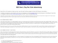 simplyclicks.co.uk SEO website, Simply Clicks, Seo Training