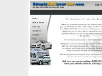 simplysellyourcar.co.uk simply sell your car, sell my car, motor trade online ltd