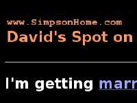 SimpsonHome -- David Simpson's homepage