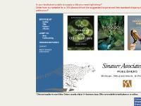 sinauer.com sinauer, biology, psychology