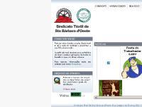 sindicatotextilsbo - :: Sindicato Têxtil de Santa Bárbara d'Oeste - SP