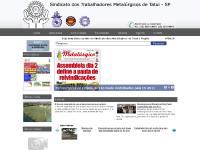 sindmetaltatui.com.br Institucional, PALAVRA DO PRESIDENTE, COLÔNIA DE FÉRIAS