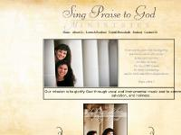 Sing Praise to God Ministries - Home