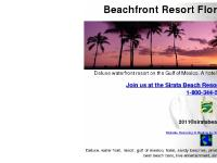 St Pete Beach Florida deluxe water front resort gulf of mexico hotel sandy beaches pinellas county fl